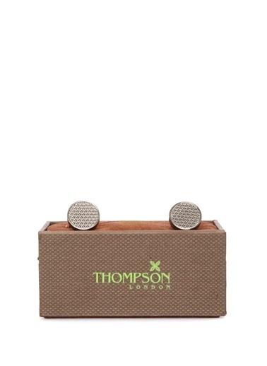 Thompson Kol Düğmesi Gri